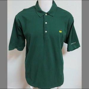Sz XL Green Masters Men Cotton #19Z Golf Polo